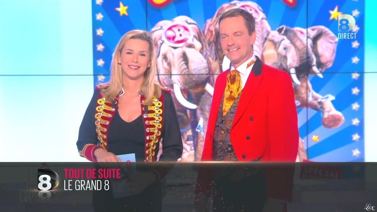Laurence Ferrari dans le Grand 8. Diffusé à la télévision le 17/12/14.