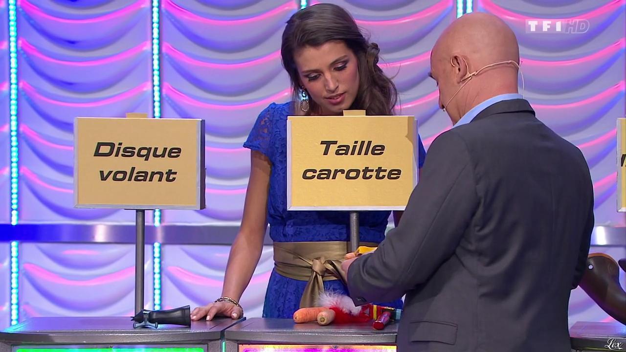 Alice Llenas dans le Juste Prix. Diffusé à la télévision le 09/03/15.