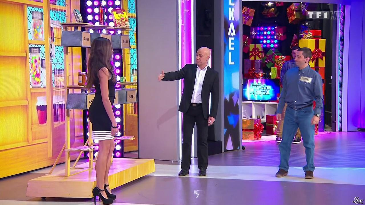 Alice Llenas dans le Juste Prix. Diffusé à la télévision le 10/03/15.
