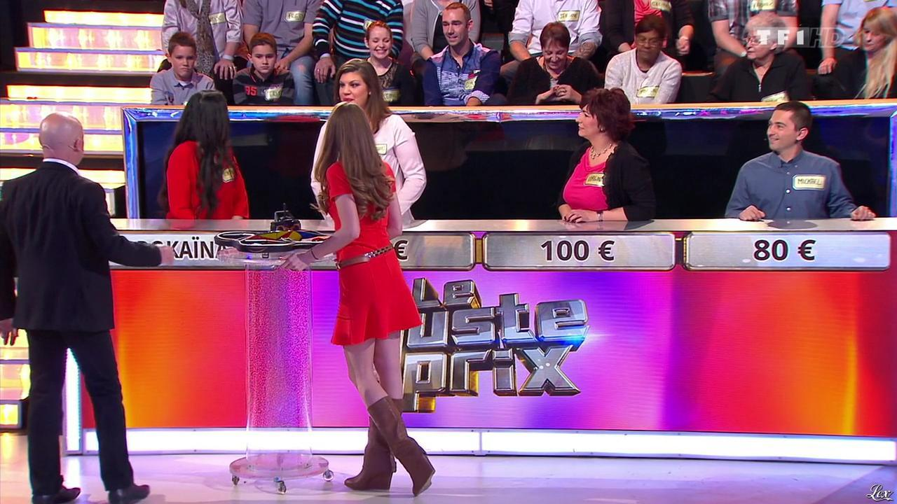 Cyrielle Joelle dans le Juste Prix. Diffusé à la télévision le 10/03/15.
