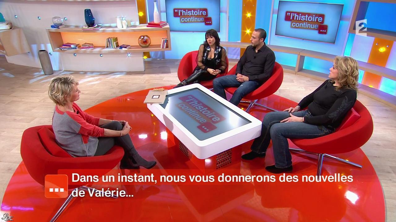 Sarah Abitbol dans Toute une Histoire. Diffusé à la télévision le 14/01/15.