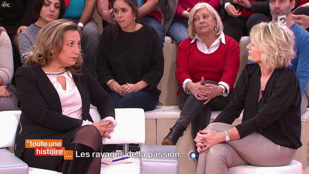 Sophie Davant dans Toute une Histoire. Diffusé à la télévision le 09/02/15.