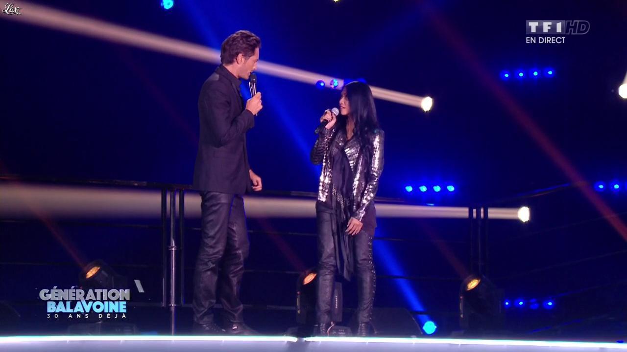 Anggun dans Génération Balavoine. Diffusé à la télévision le 09/01/16.