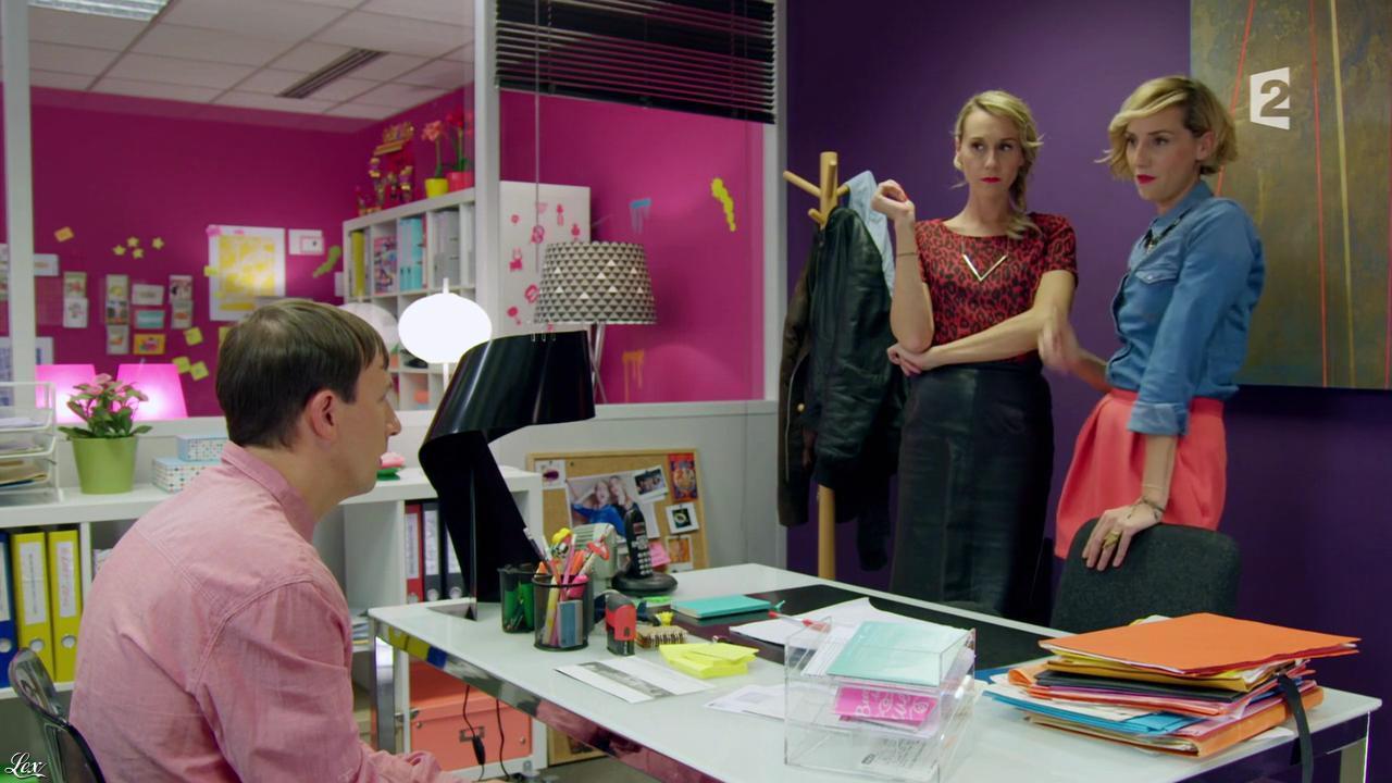 Anne-Sophie Girard et Marie Aldine Girard dans Parfaites ou Presque. Diffusé à la télévision le 10/10/15.