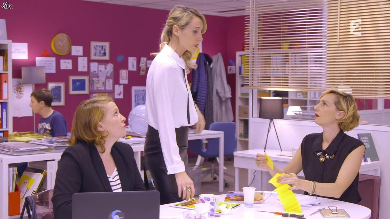 Anne-Sophie Girard et Marie Aldine Girard dans Parfaites ou Presque. Diffusé à la télévision le 31/10/15.