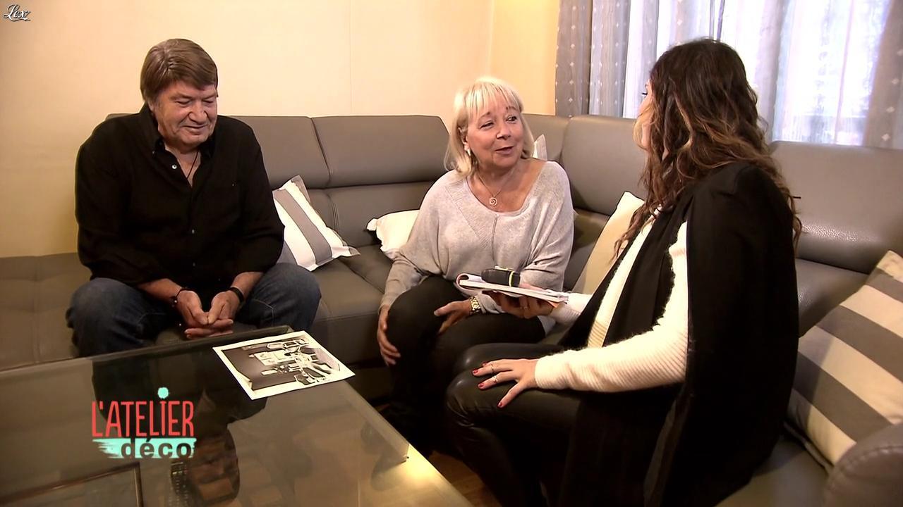 Aurélie Hemar dans l'Atelier Deco. Diffusé à la télévision le 05/03/16.