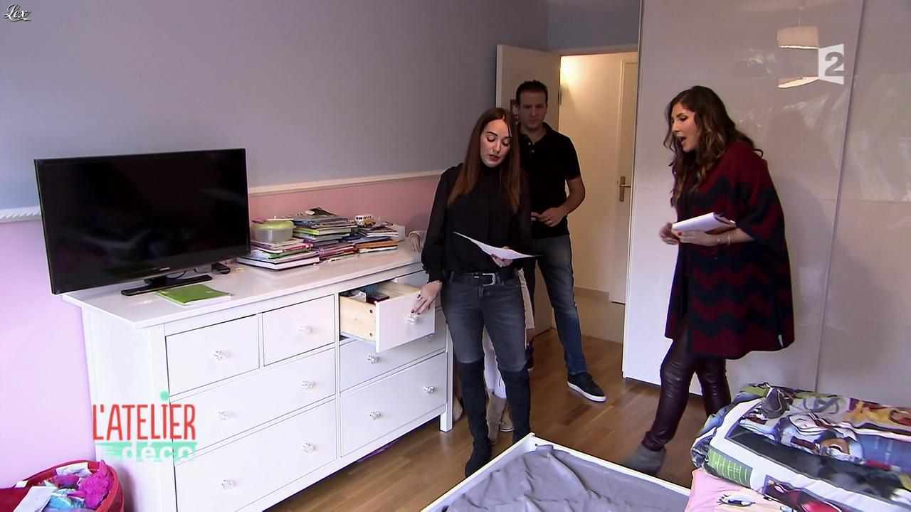 Aurélie Hemar dans l'Atelier Deco. Diffusé à la télévision le 20/02/16.