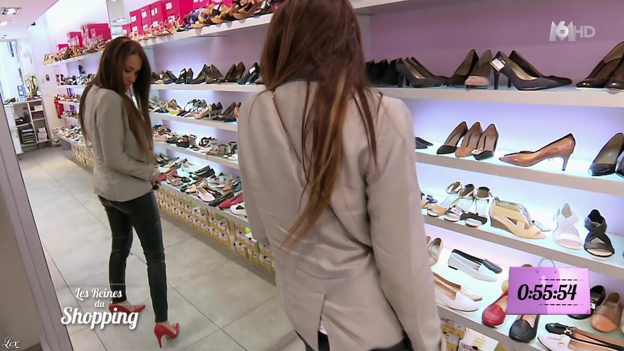 Camille dans les Reines du Shopping. Diffusé à la télévision le 23/03/16.