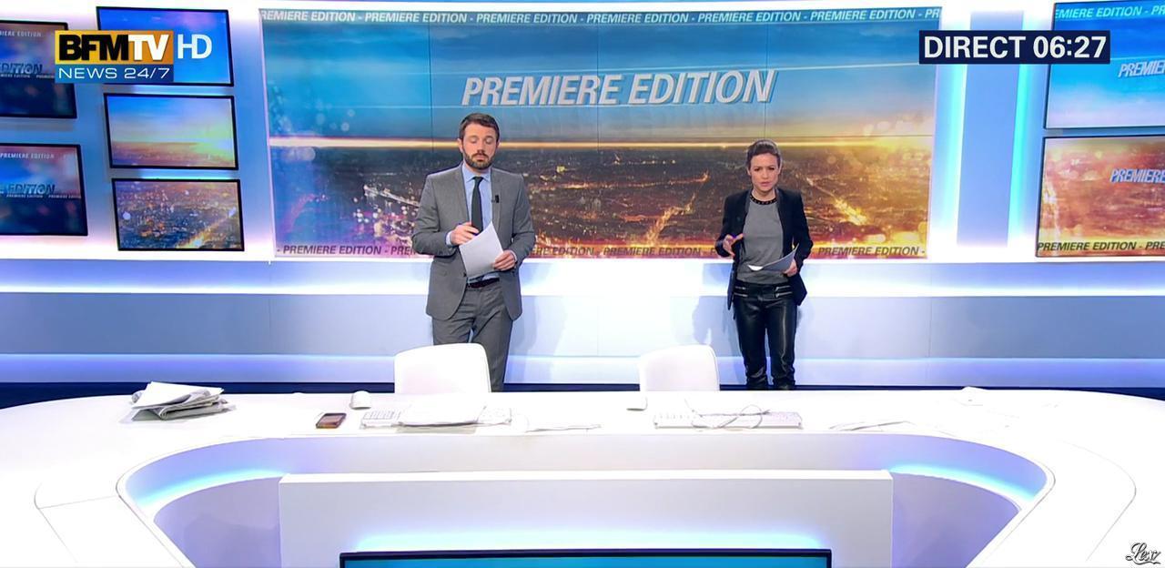 Céline Pitelet dans Première Edition. Diffusé à la télévision le 29/12/15.
