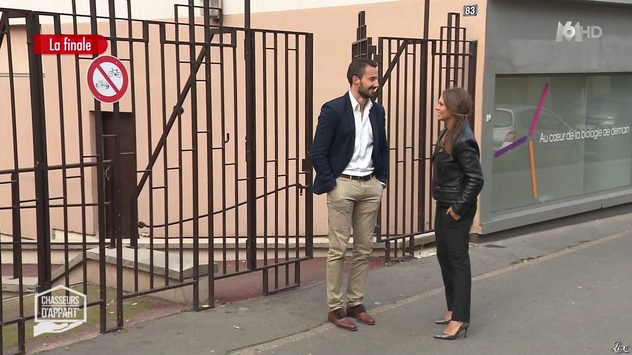 Charline dans Chasseurs d'Appart. Diffusé à la télévision le 22/01/16.
