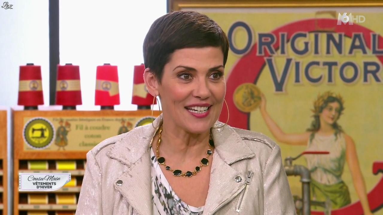 Cristina Cordula dans Cousu Main. Diffusé à la télévision le 30/01/16.