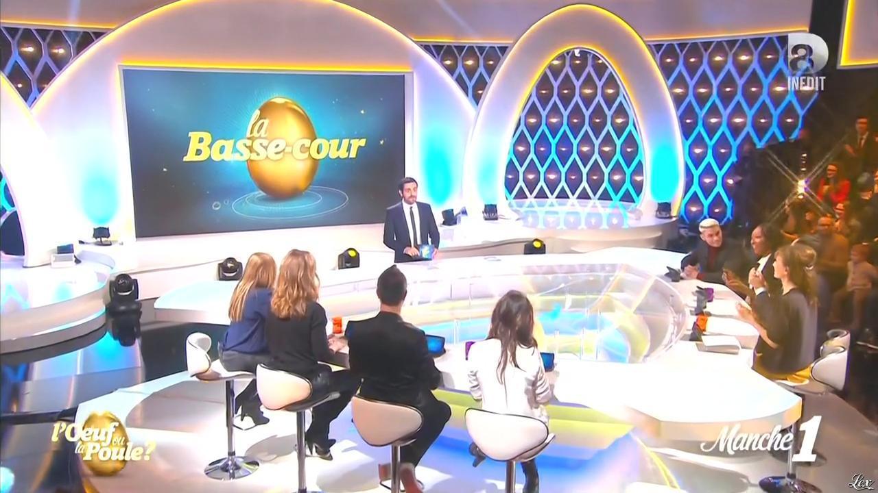 Daphné Burki dans l'Oeuf ou la Poule. Diffusé à la télévision le 04/02/16.