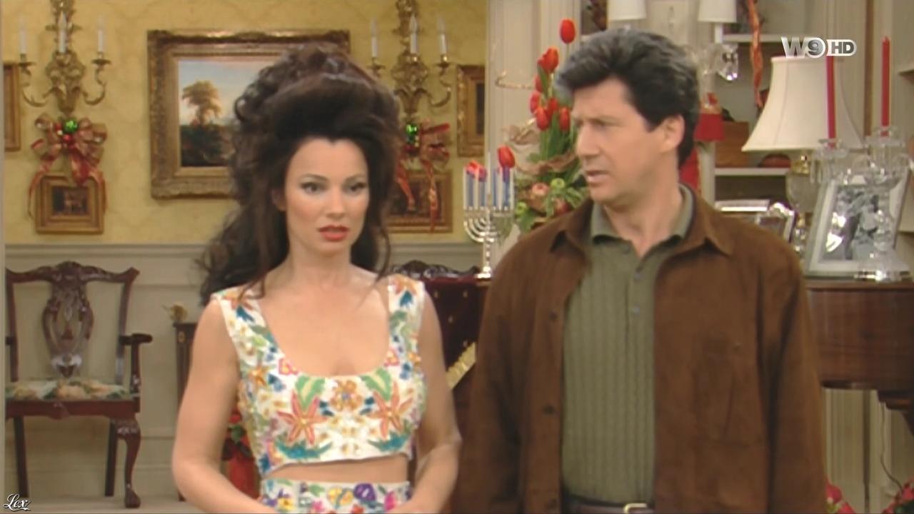 Fran Drescher dans une Nounou d'Enfer. Diffusé à la télévision le 03/02/16.