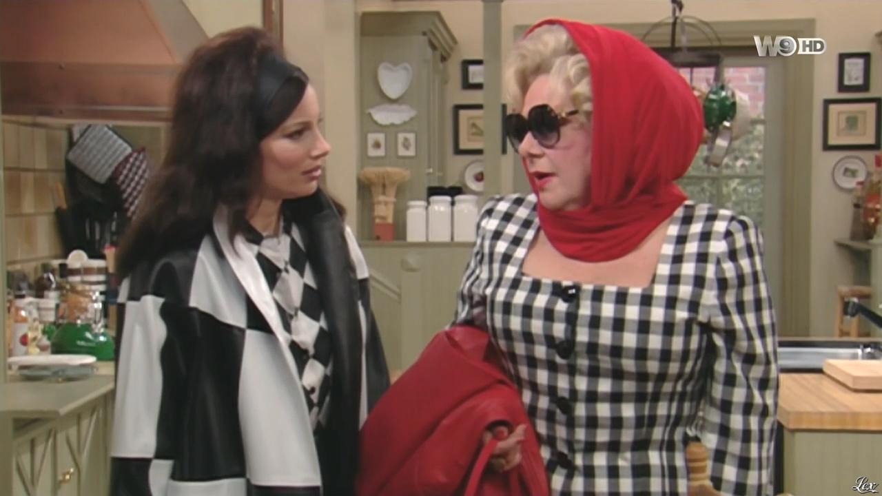 Fran Drescher dans une Nounou d'Enfer. Diffusé à la télévision le 25/01/16.