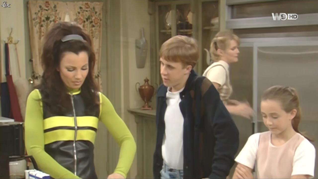 Fran Drescher dans une Nounou d'Enfer. Diffusé à la télévision le 28/01/16.