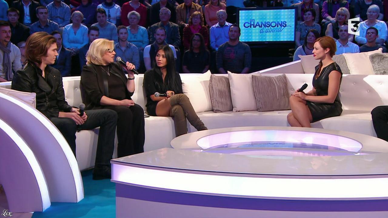 Natasha St Pier et Anggun dans les Chansons d'Abord. Diffusé à la télévision le 30/01/14.