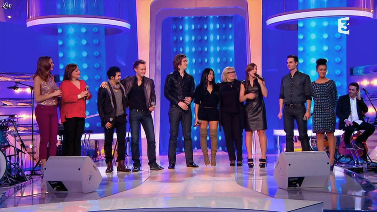 Natasha St Pier, Camille Lou et Anggun dans les Chansons d'Abord. Diffusé à la télévision le 30/01/14.