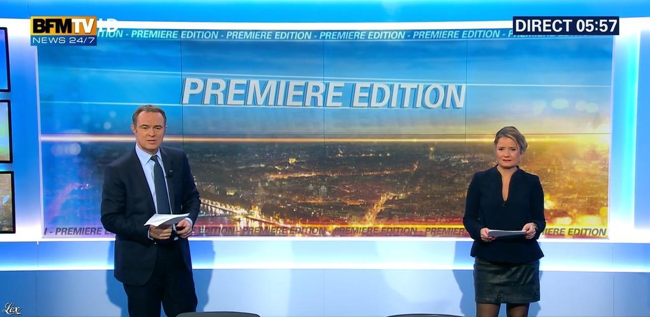 Pascale de la Tour du Pin dans Première Edition. Diffusé à la télévision le 08/12/15.