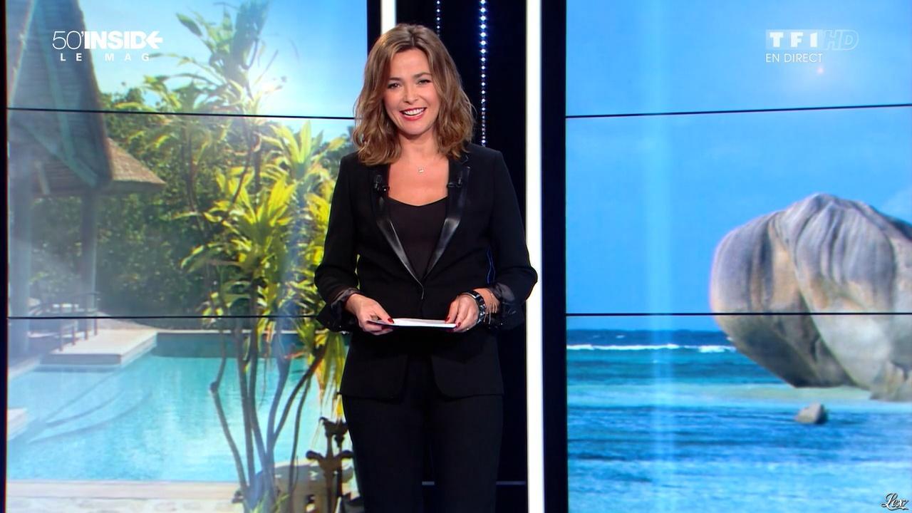 Sandrine Quétier dans 50 Minutes Inside. Diffusé à la télévision le 07/11/15.