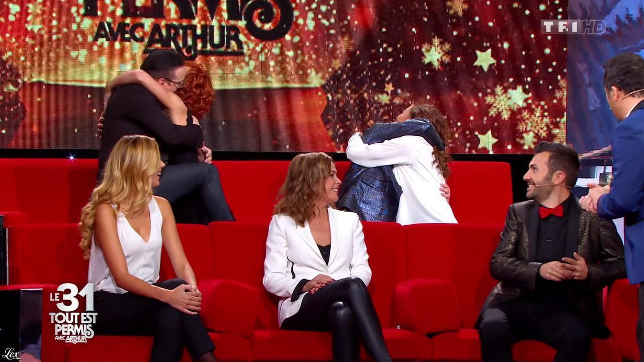 Sandrine Quétier dans le 31 Tout Est Permis. Diffusé à la télévision le 31/12/15.