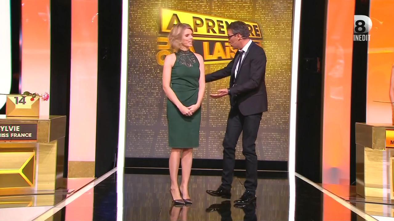 Sylvie Tellier dans à Prendre ou à Laisser. Diffusé à la télévision le 04/09/15.