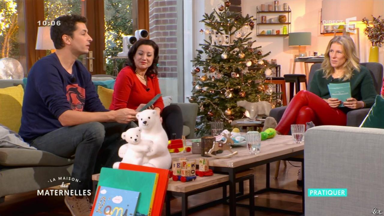 Agathe Lecaron dans la Maison des Maternelles. Diffusé à la télévision le 14/12/16.