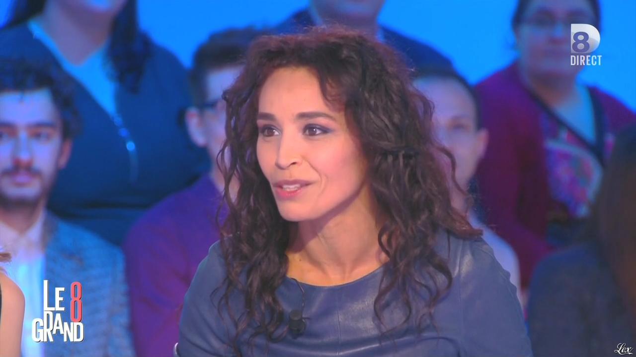 Aïda Touihri dans le Grand 8. Diffusé à la télévision le 09/03/16.