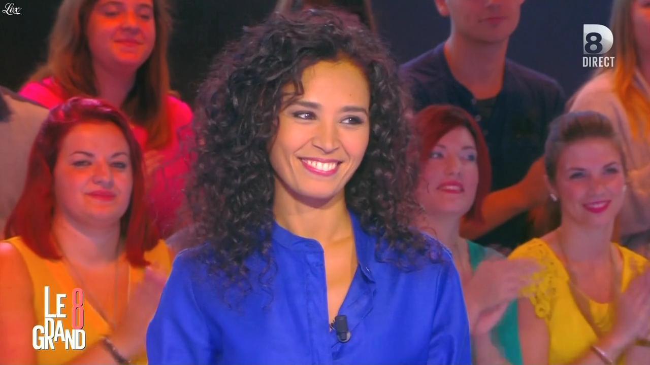 Aïda Touihri dans le Grand 8. Diffusé à la télévision le 14/09/15.