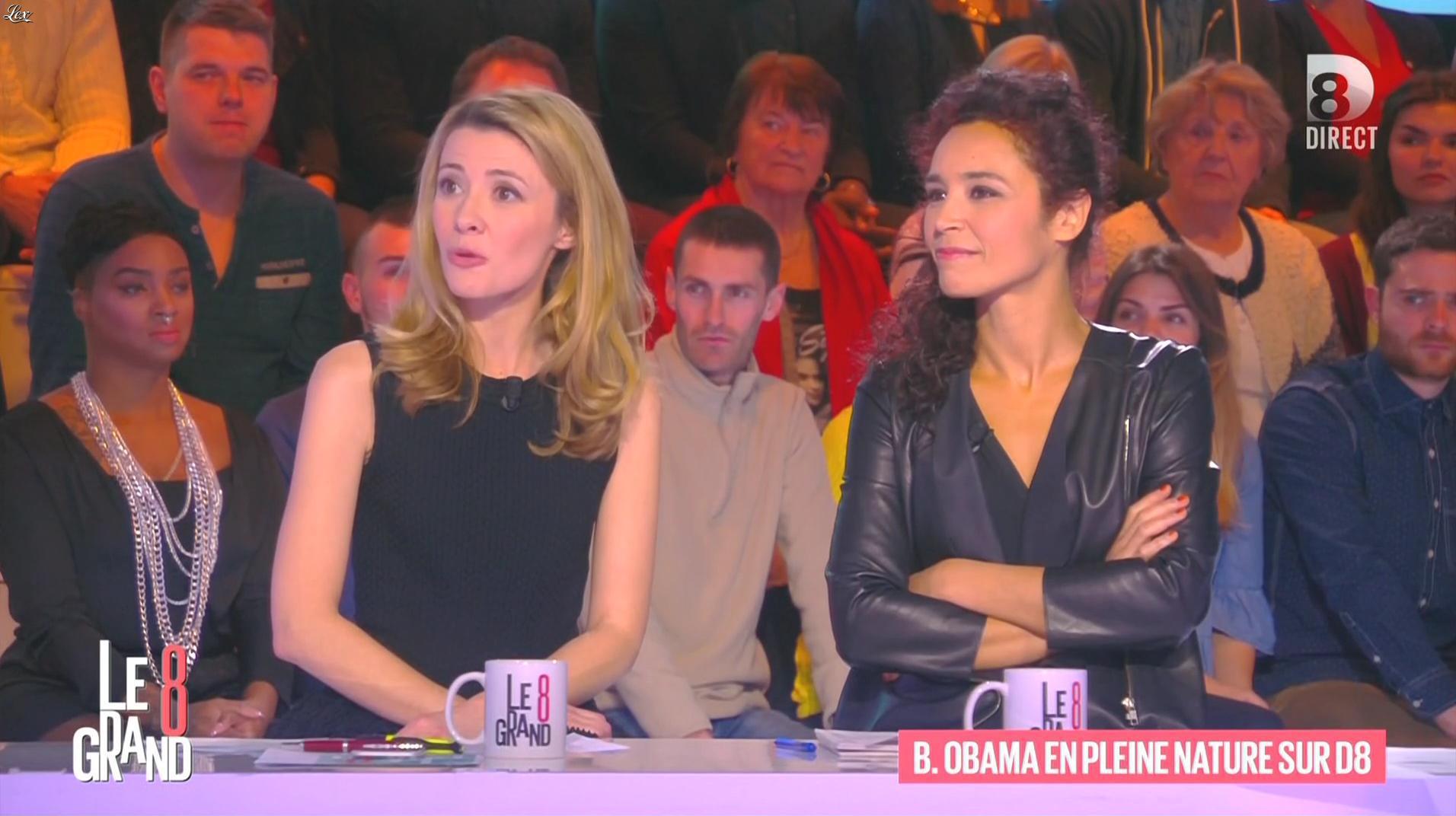 Aïda Touihri dans le Grand 8. Diffusé à la télévision le 20/01/16.
