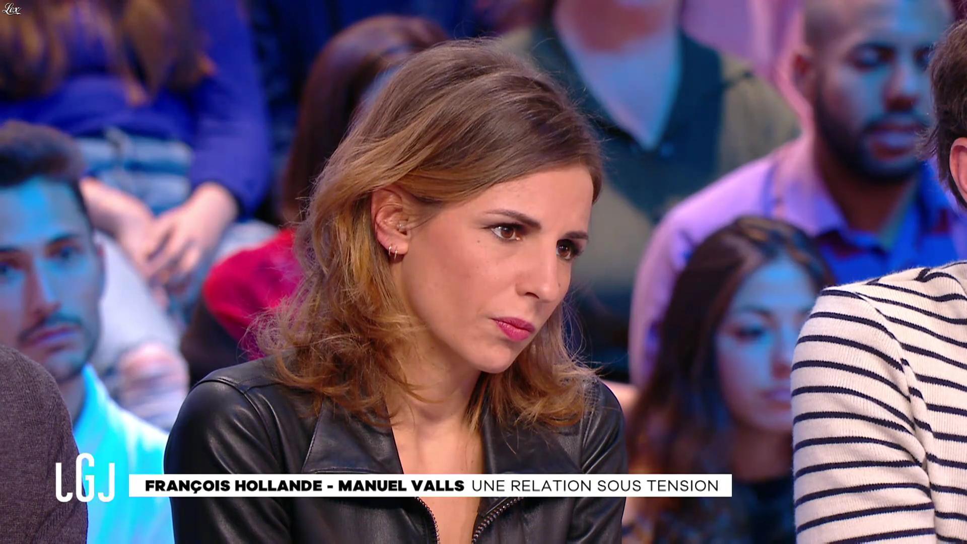 Alice Darfeuille dans le Grand Journal. Diffusé à la télévision le 28/11/16.