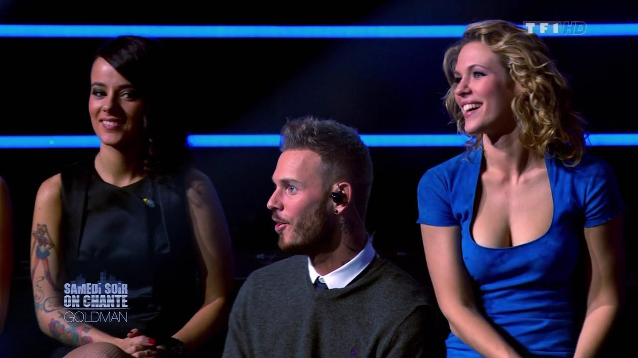 Alizée et Lorie dans Samedi Soir On Chante Goldman. Diffusé à la télévision le 19/01/13.