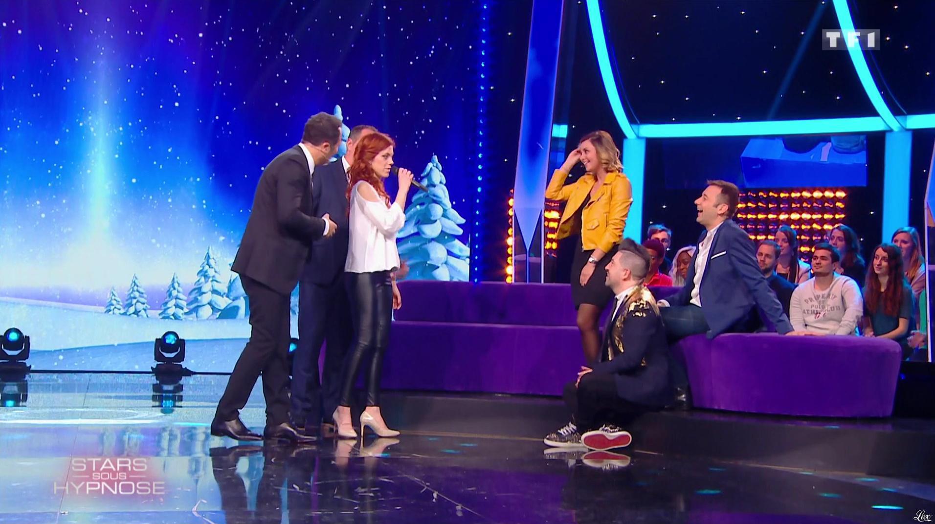 Anaïs Delva dans Stars Sous Hypnose. Diffusé à la télévision le 28/01/17.