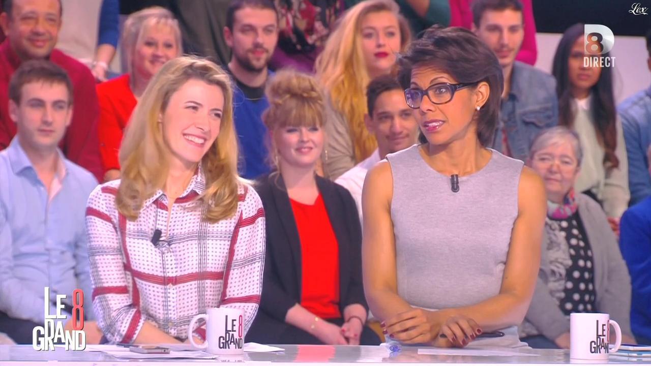 Audrey Pulvar dans le Grand 8. Diffusé à la télévision le 09/03/15.