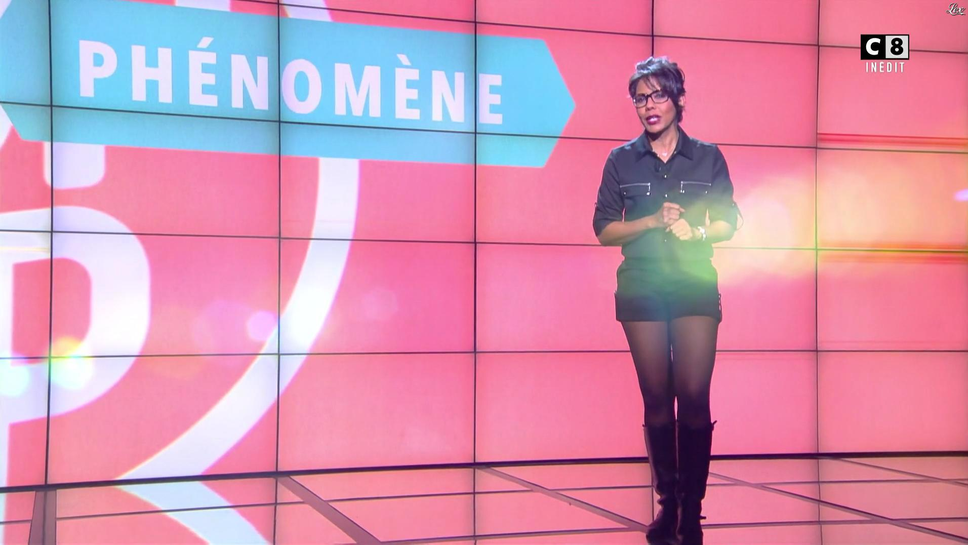 Audrey Pulvar dans Popup. Diffusé à la télévision le 14/01/17.