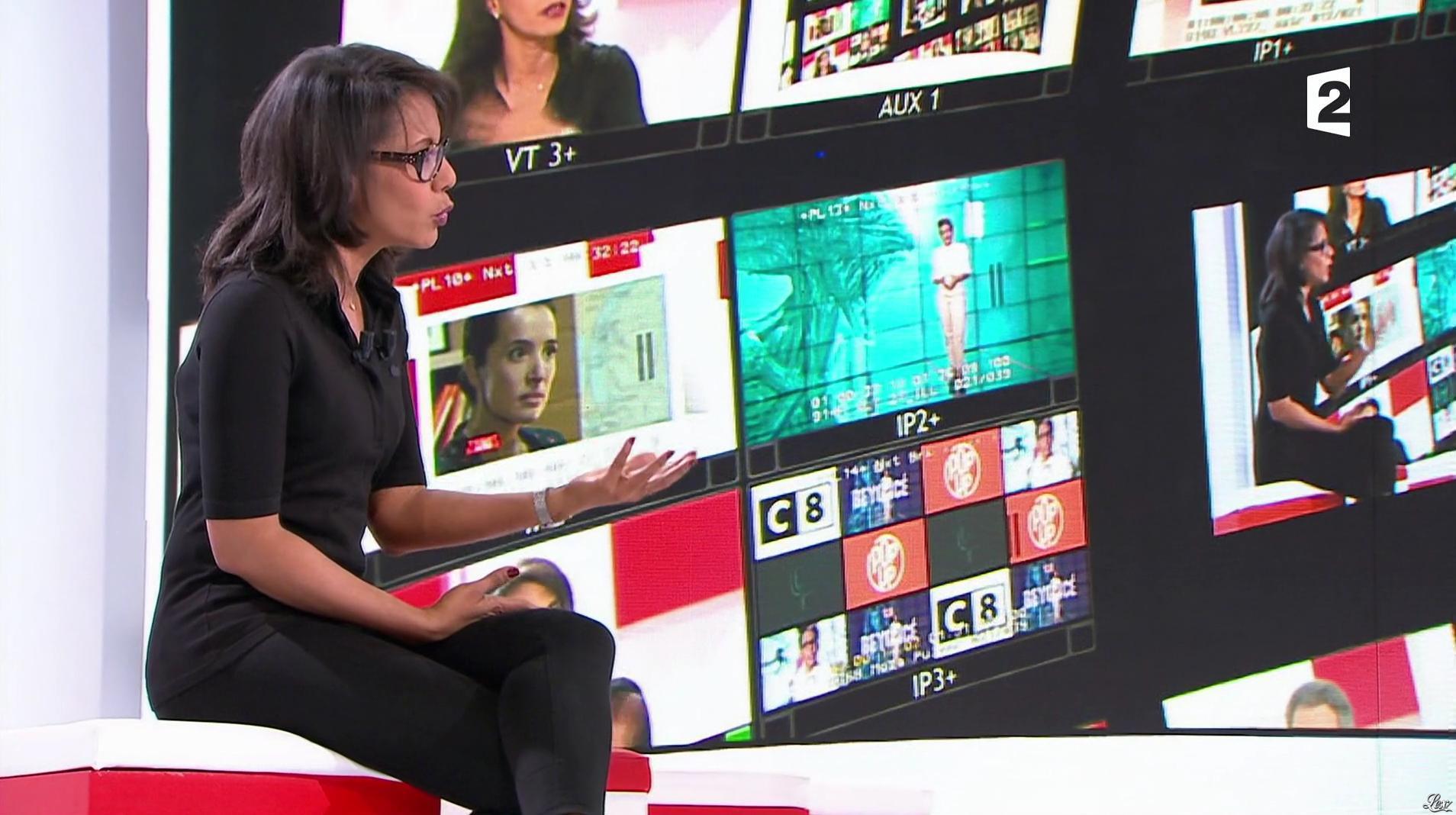 Audrey Pulvar dans Vivement la Télé. Diffusé à la télévision le 19/02/17.