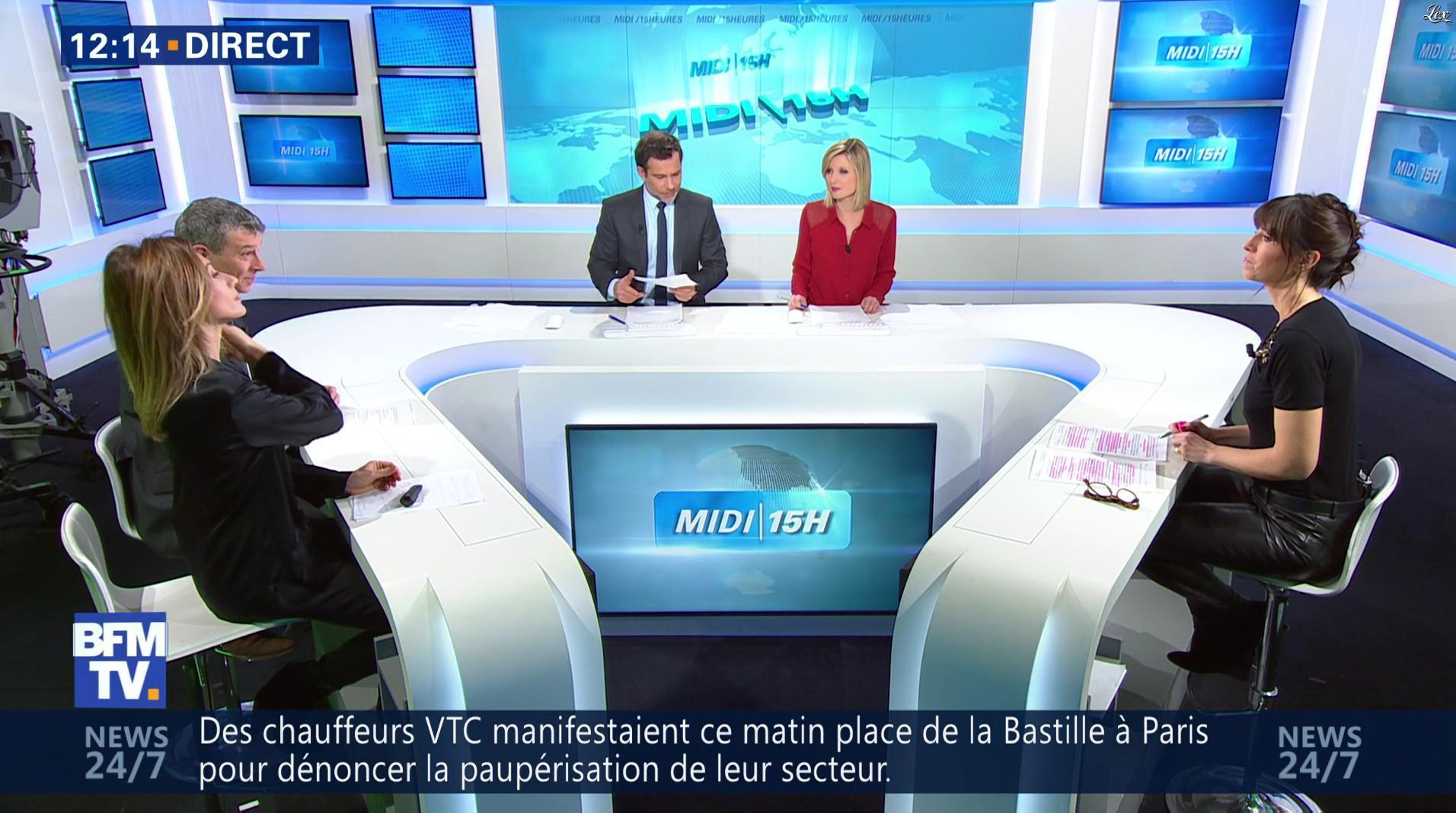Candice Mahout dans le Midi-15h. Diffusé à la télévision le 16/01/17.