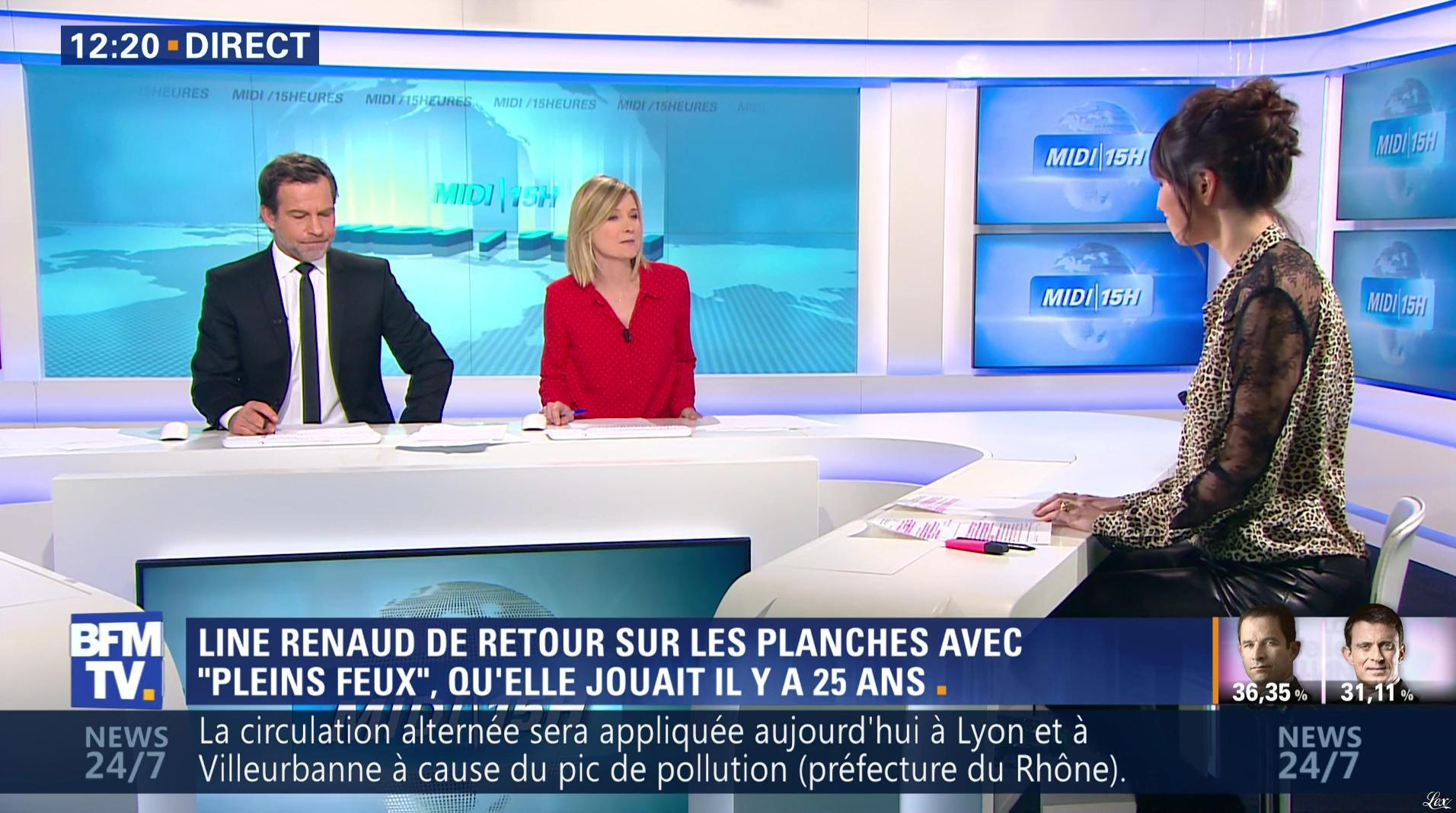Candice Mahout dans le Midi-15h. Diffusé à la télévision le 23/01/17.