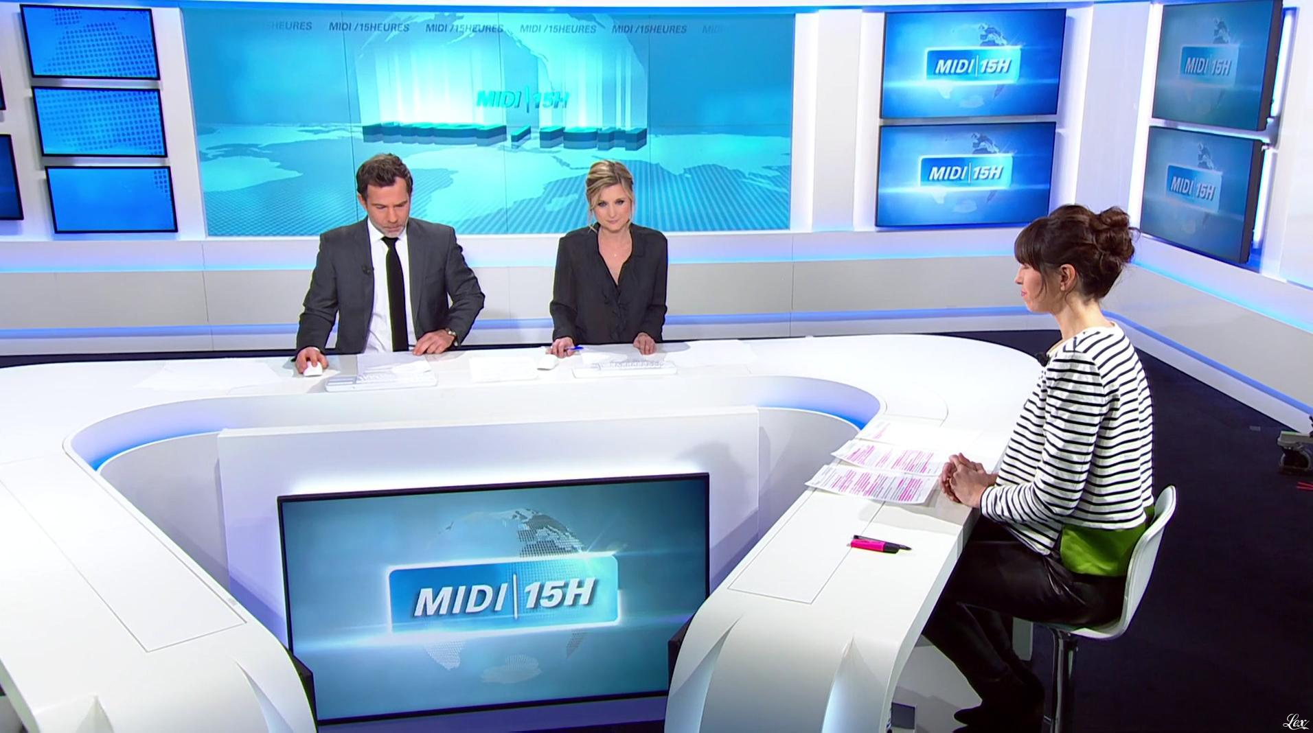 Candice Mahout dans le Midi-15h. Diffusé à la télévision le 24/01/17.