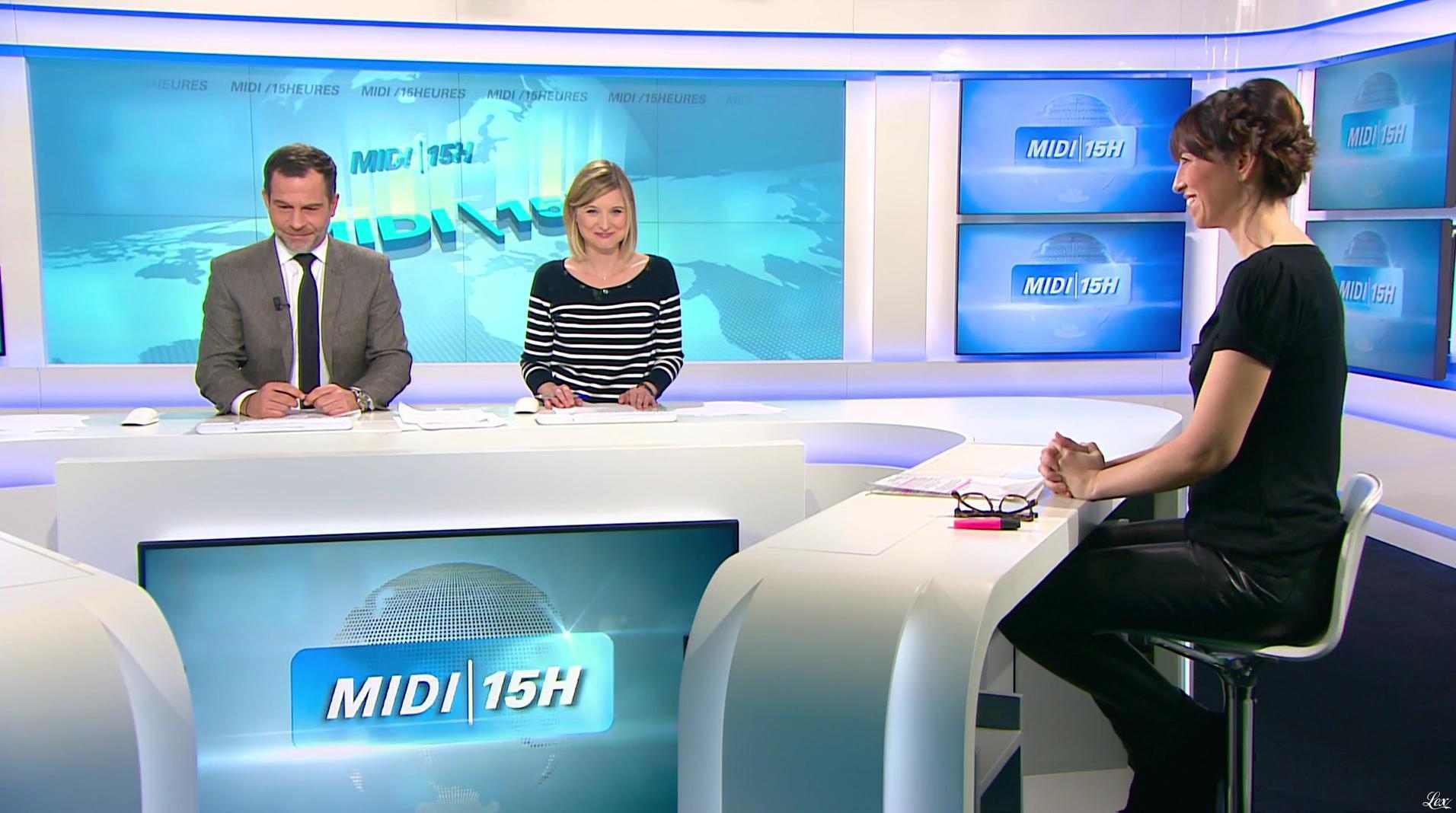 Candice Mahout dans le Midi-15h. Diffusé à la télévision le 27/01/17.