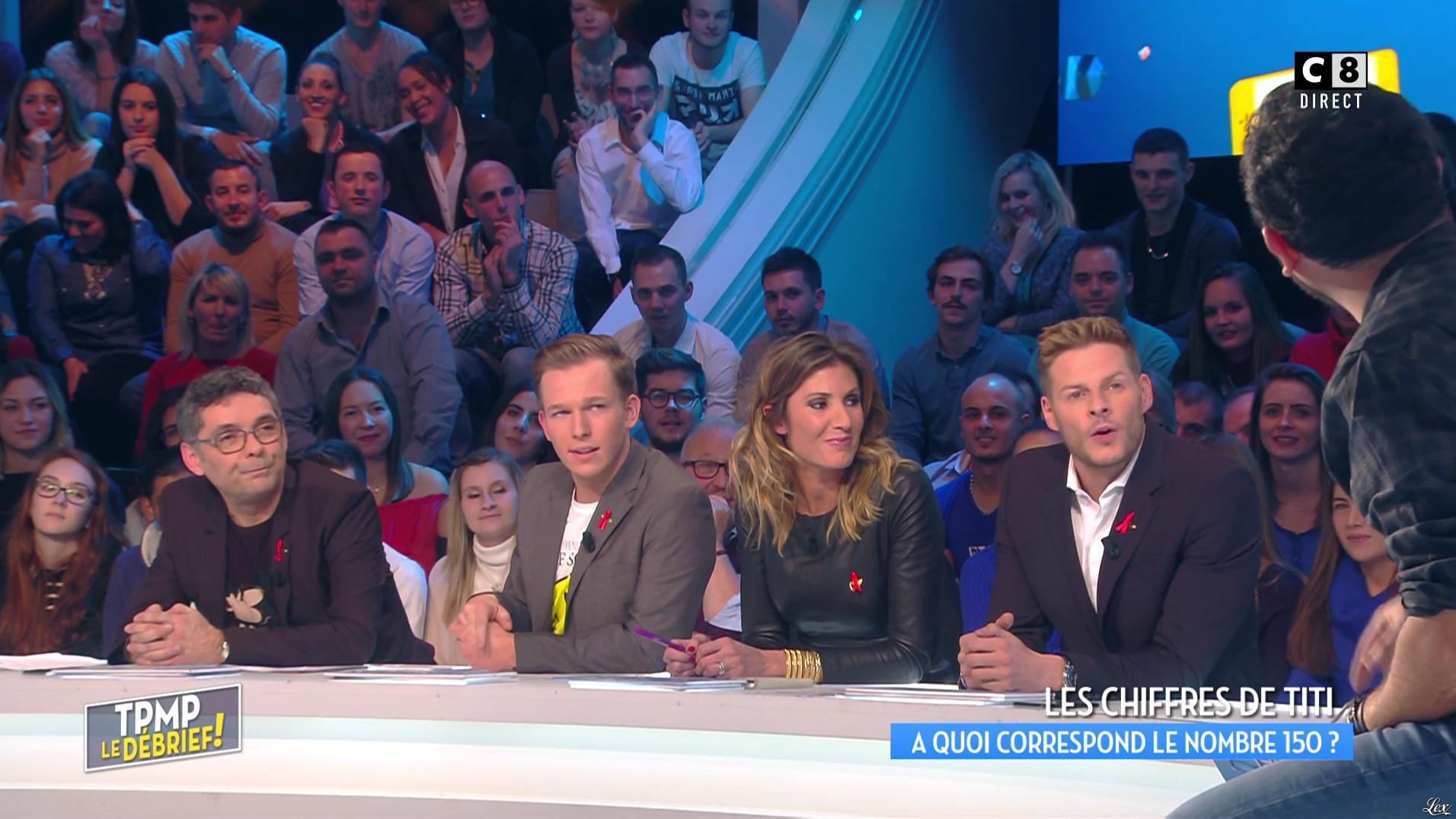 Caroline Ithurbide dans Touche pas à mon Poste. Diffusé à la télévision le 01/12/16.