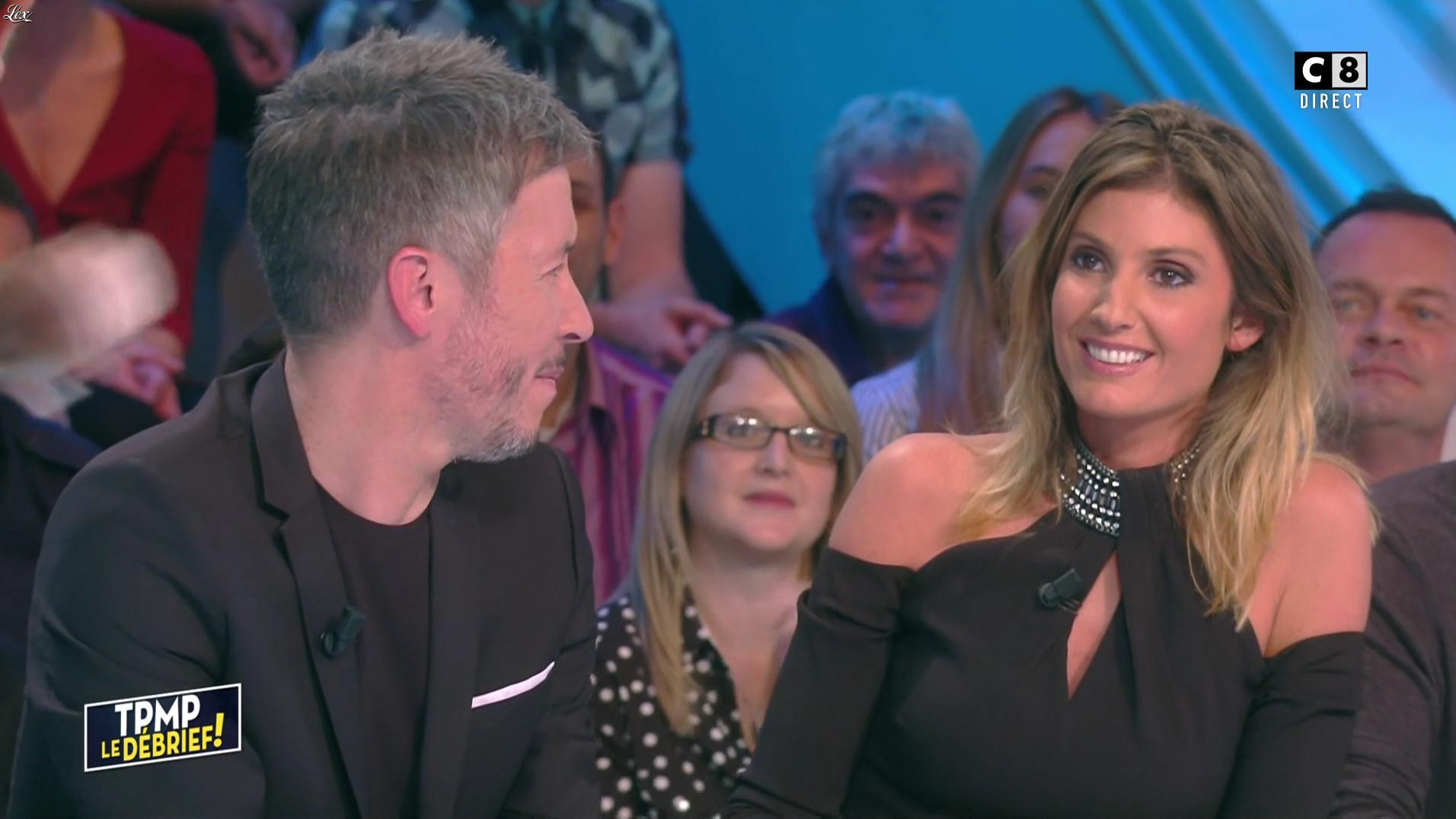 Caroline Ithurbide dans Touche pas à mon Poste. Diffusé à la télévision le 14/11/16.