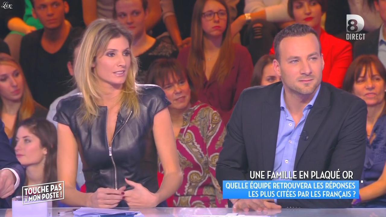 Caroline Ithurbide dans Touche pas à mon Poste. Diffusé à la télévision le 22/01/16.