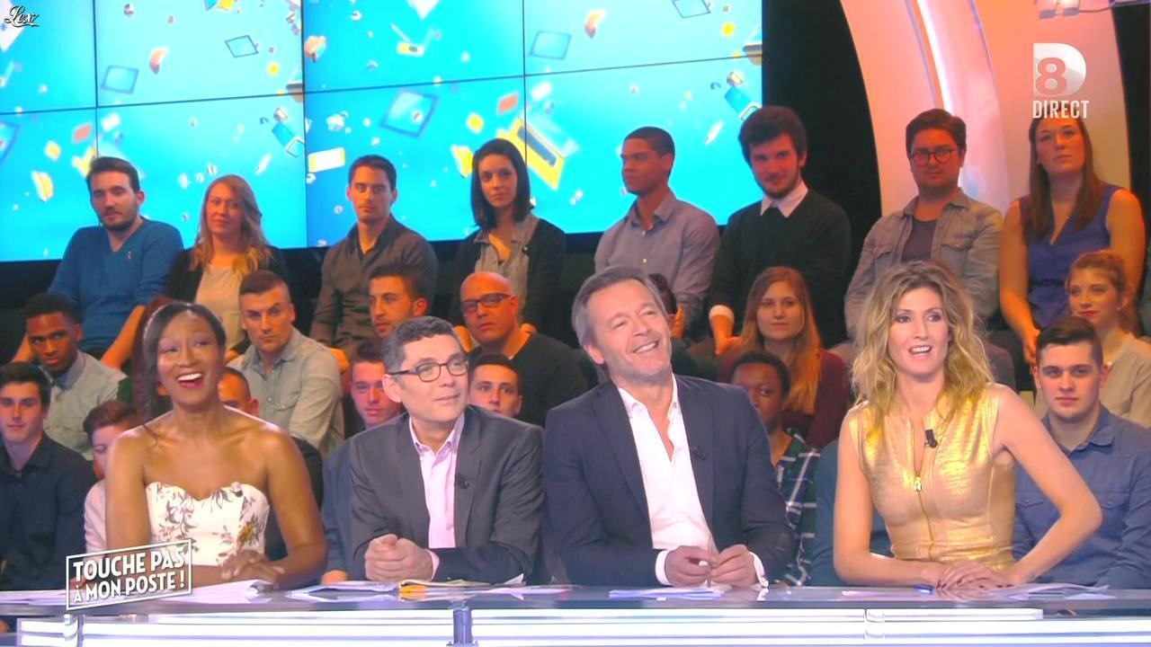 Caroline Ithurbide dans Touche pas à mon Poste. Diffusé à la télévision le 29/01/16.