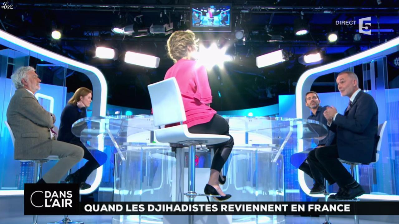 Caroline Roux dans C dans l'Air. Diffusé à la télévision le 01/12/16.