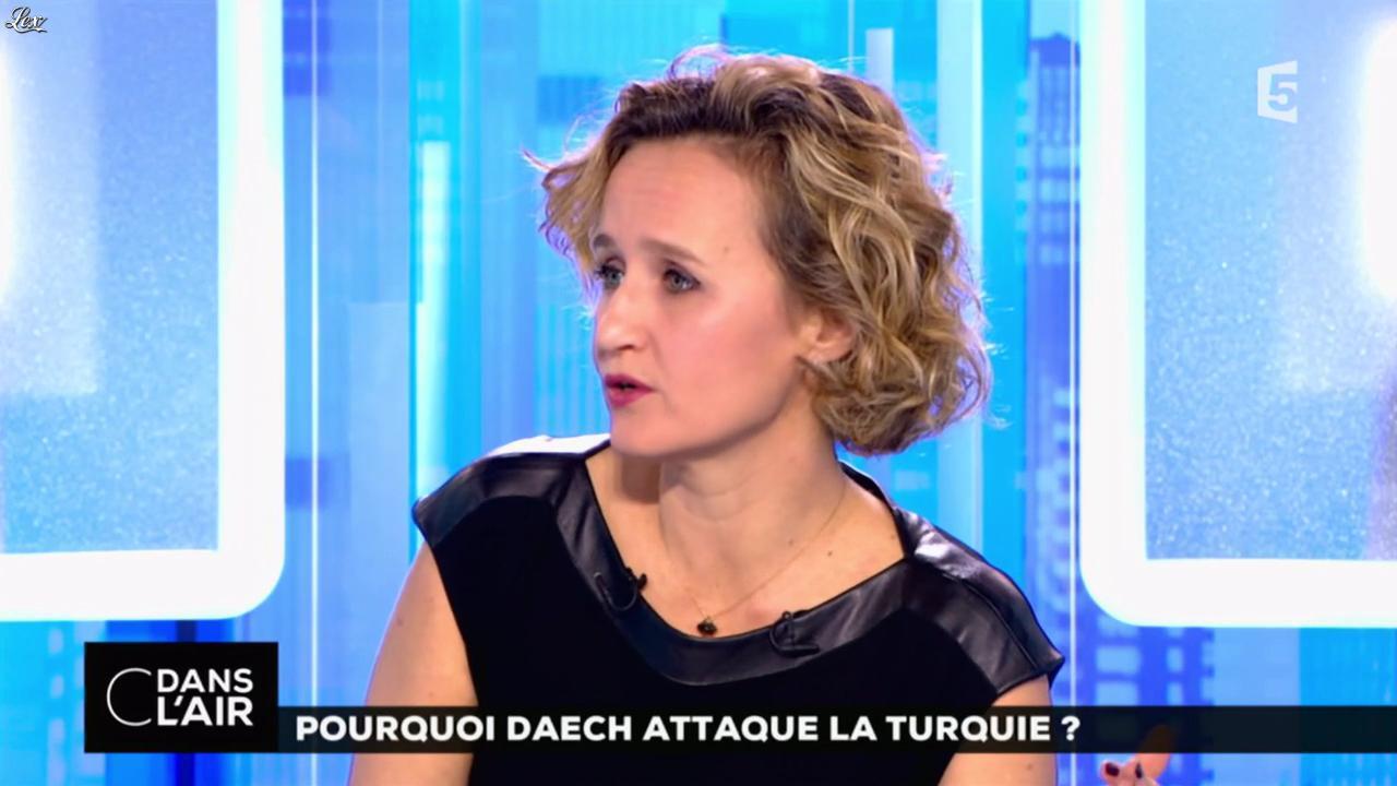 Caroline Roux dans C dans l'Air. Diffusé à la télévision le 03/01/17.