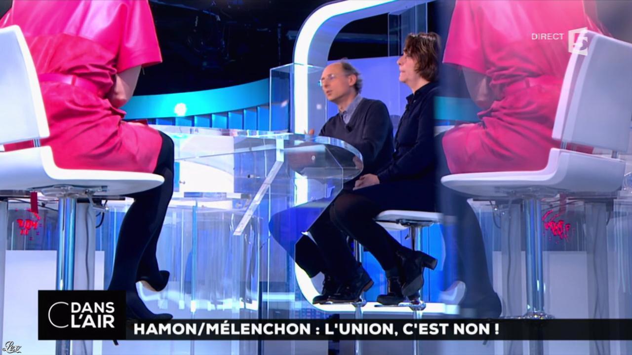 Caroline Roux dans C dans l'Air. Diffusé à la télévision le 20/02/17.