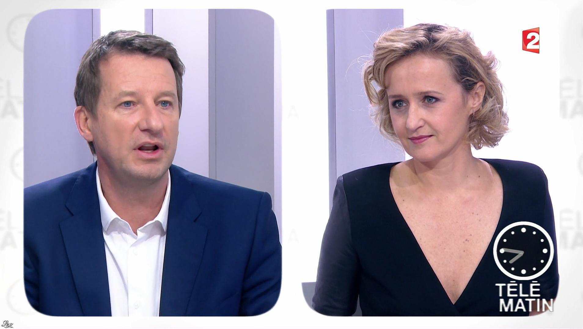 Caroline Roux dans les 4 Vérités. Diffusé à la télévision le 07/12/16.