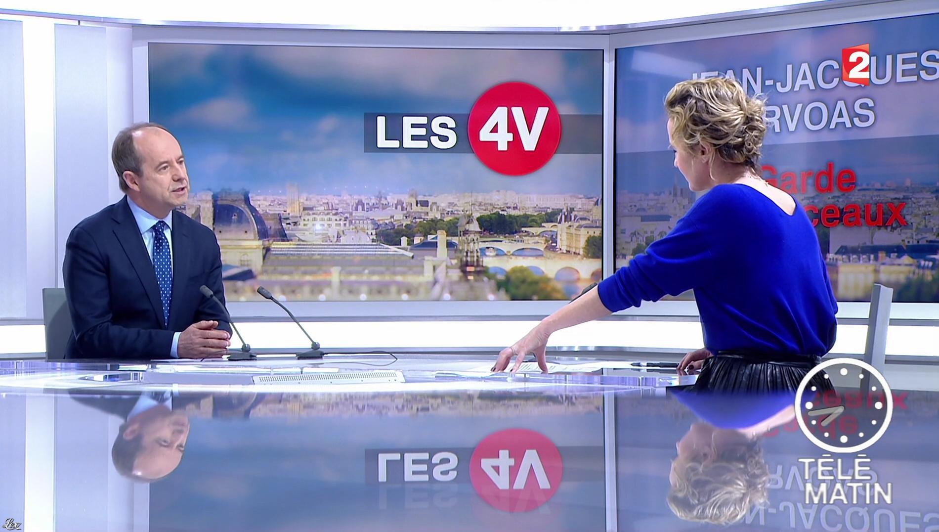 Caroline Roux dans les 4 Vérités. Diffusé à la télévision le 27/02/17.