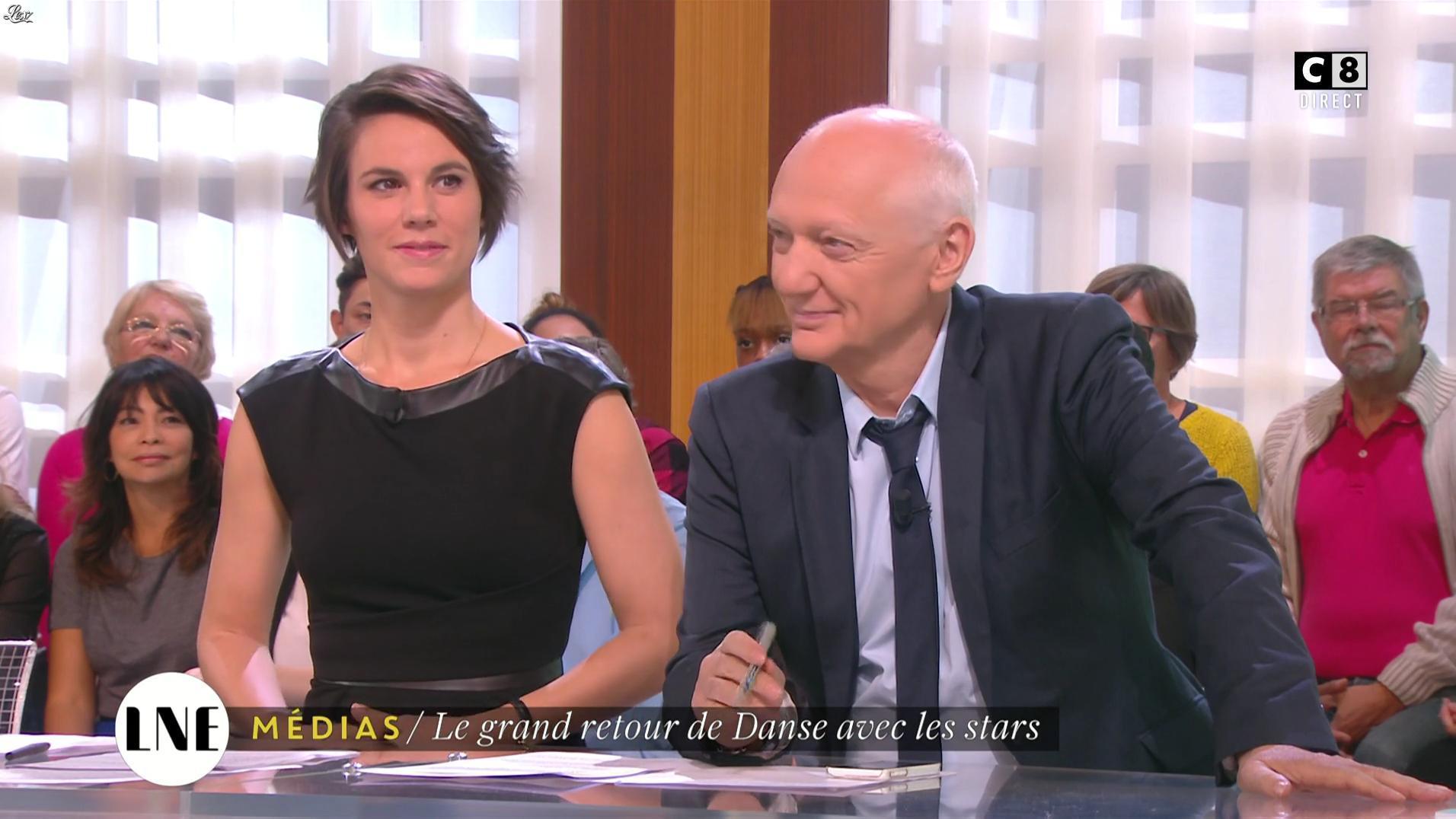 Emilie Besse dans la Nouvelle Edition. Diffusé à la télévision le 17/10/16.