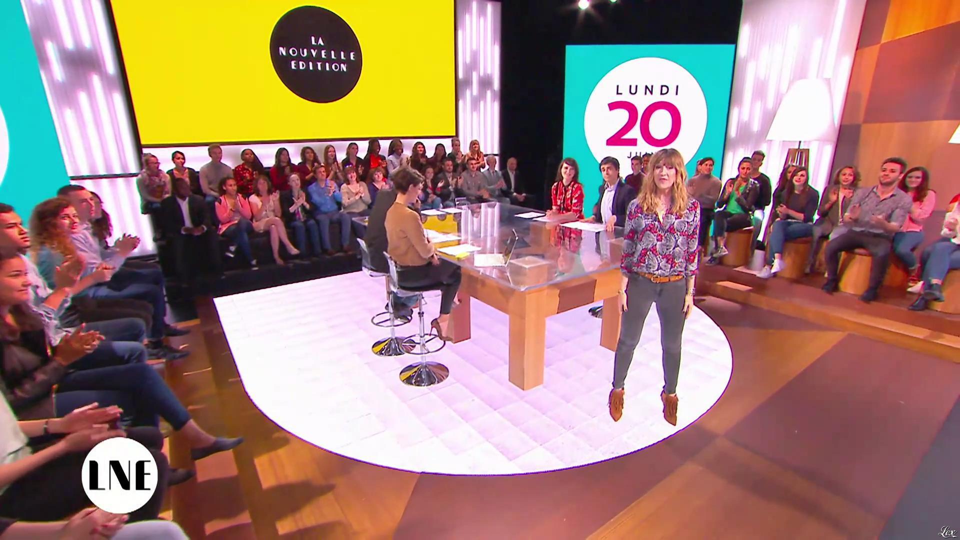 Emilie Besse dans la Nouvelle Edition. Diffusé à la télévision le 20/06/16.